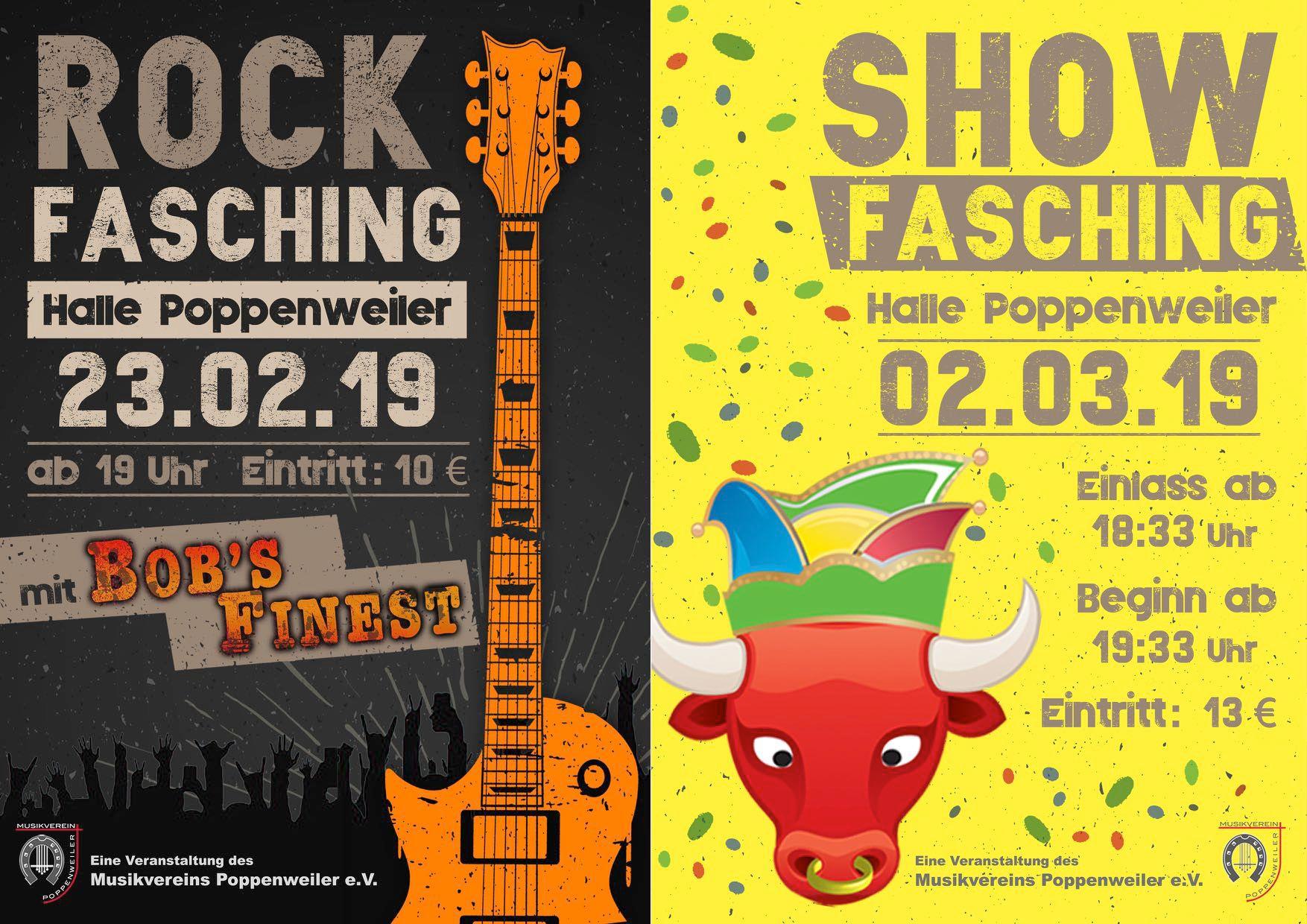 Rockfasching 23 02 2019 Show Fasching 02 03 2019 Musikverein